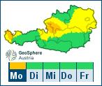 Aktuelle Unwetterwarnungen für Oberösterreich