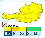 ZAMG-Wetterwarnungen