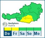 ZAMG-Wetterwarnungen