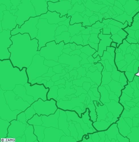 Aktuelle Unwetterwarnungen für Wiener Neustadt Land